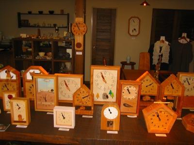 """今日から""""木の時計展""""_b0100229_1341540.jpg"""