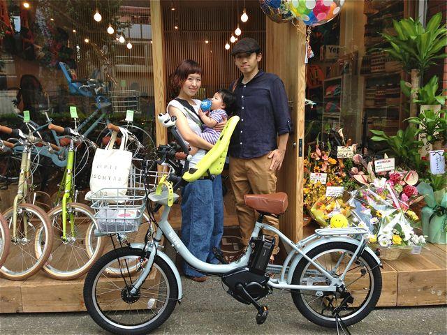 リピトの『バイシクルファミリー』Yepp ビッケ2e ハイディ bikke ママチャリ おしゃれ自転車 mama_b0212032_21385327.jpg