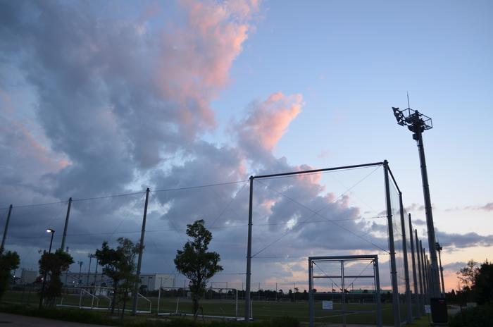 """""""おのだサッカー交流公園から望む""""_d0153941_19403830.jpg"""