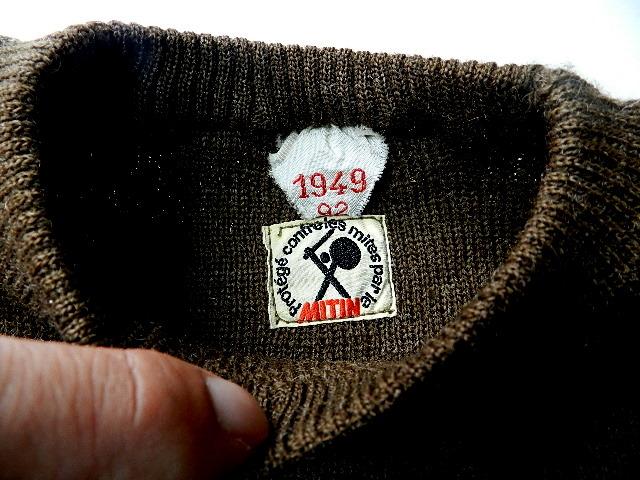 French army 40\'s crew neck knit_f0226051_12424267.jpg
