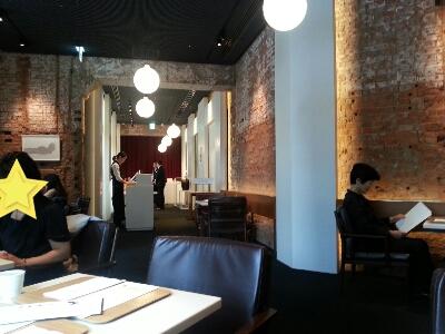 パリの風を感じるカフェ@東京ステーションホテル_a0187658_952051.jpg