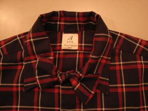 """ANATOMICA WEEKEND SHIRT COTTON/WOOL OVER CHECK\""ってこんなこと。_c0140560_10105567.jpg"