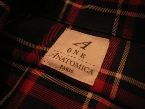 """ANATOMICA WEEKEND SHIRT COTTON/WOOL OVER CHECK\""ってこんなこと。_c0140560_10111710.jpg"