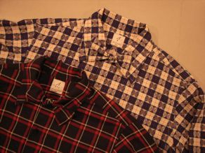"""ANATOMICA WEEKEND SHIRT COTTON/WOOL OVER CHECK\""ってこんなこと。_c0140560_10115338.jpg"