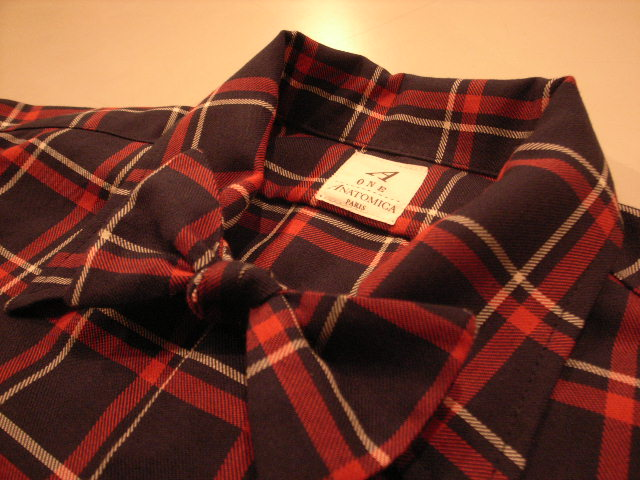 """ANATOMICA WEEKEND SHIRT COTTON/WOOL OVER CHECK\""ってこんなこと。_c0140560_109197.jpg"