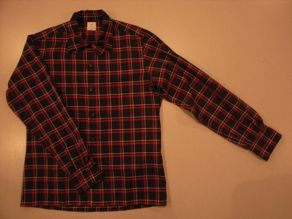 """ANATOMICA WEEKEND SHIRT COTTON/WOOL OVER CHECK\""ってこんなこと。_c0140560_1093534.jpg"