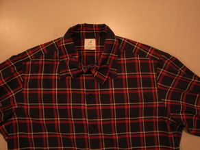 """ANATOMICA WEEKEND SHIRT COTTON/WOOL OVER CHECK\""ってこんなこと。_c0140560_1095257.jpg"