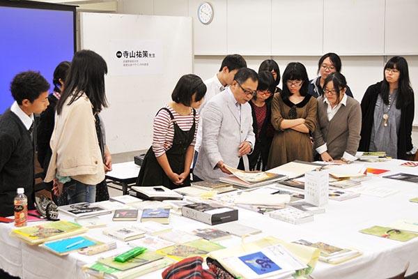 武蔵美の先生による『中高生のための みんなでデザインする話』が行われました。_f0227963_1037037.jpg