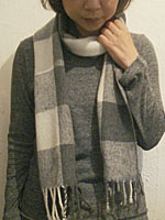 冬の身支度展 oricagoさんのマフラー_e0199564_15434040.jpg