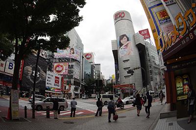 10月22日(火)の渋谷109前交差点_b0056983_10584618.jpg