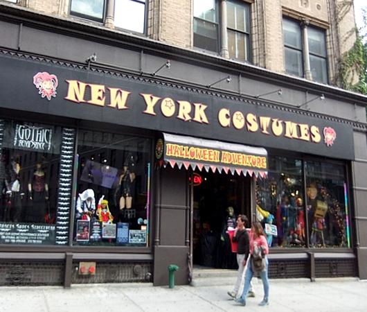 NYのハロウィン・ムードを体感できるお店 New York Costumes Halloween Adventure_b0007805_2137381.jpg