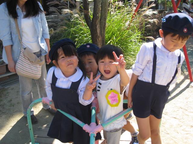 中学生との交流・1日体験入園_c0107515_22115.jpg