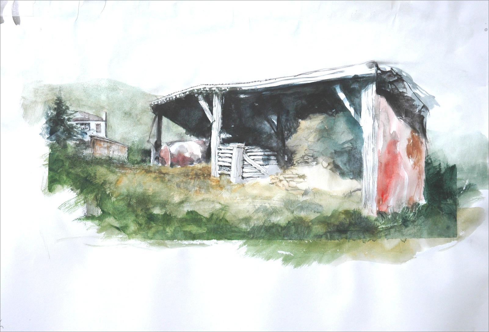 《 水彩研究(study watercolor)  》_f0159856_13165161.jpg