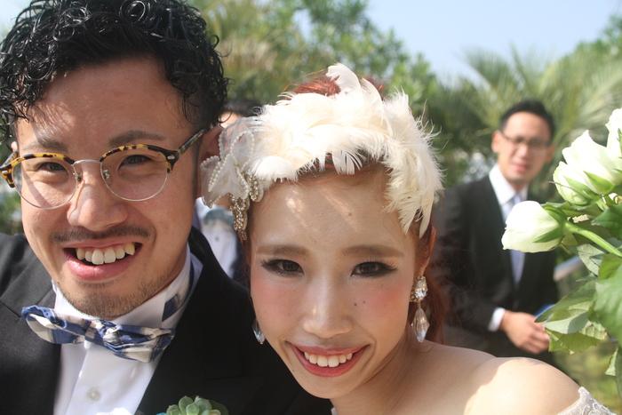先日の結婚式の・・・_a0272765_18103945.jpg