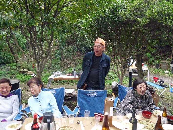 かっちゃん宅の芋煮会に手づくりの里芋など提供(10・22)_c0014967_1121324.jpg