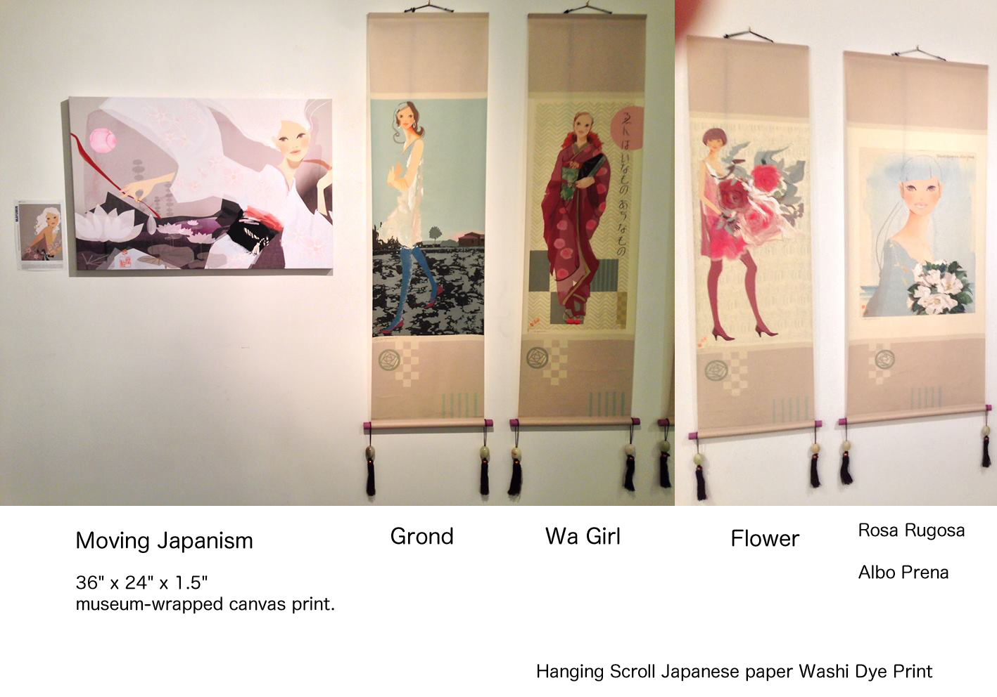 """Direct from the Source\""  Art Show featuring artists from Japan_f0172313_7541682.jpg"