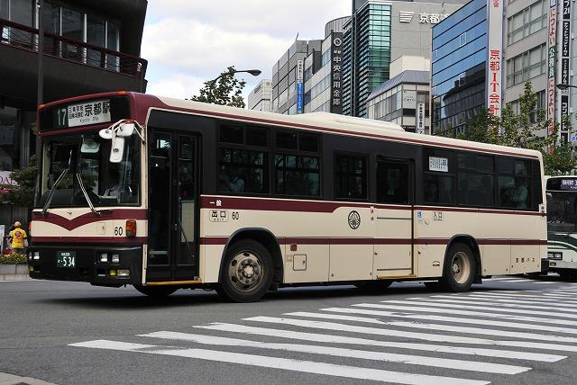 京都バス~西工96MC(B-I)日産ディーゼル  60~_a0164734_14435046.jpg