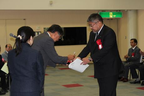 平成25年度藤沢市優良建設工事店表彰_f0221283_8425083.jpg