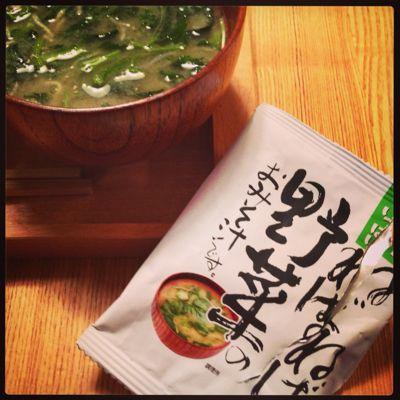 高級即席味噌汁_b0065587_19555856.jpg