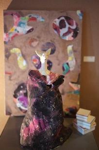 ②「鈴木隆さんのオブジェ・花器・絵画たち」=10月個展=_f0226293_835898.jpg