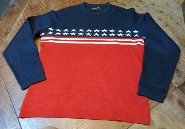 10/26(土)入荷!70-80\'S 星条旗柄PURE VIRGIN WOOL SWEATER!_c0144020_1535199.jpg