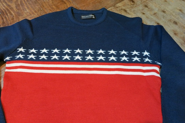 10/26(土)入荷!70-80\'S 星条旗柄PURE VIRGIN WOOL SWEATER!_c0144020_153537.jpg
