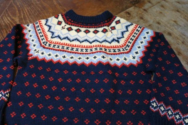 10/25(土)入荷!70'S ノルディック セーター!_c0144020_1571061.jpg