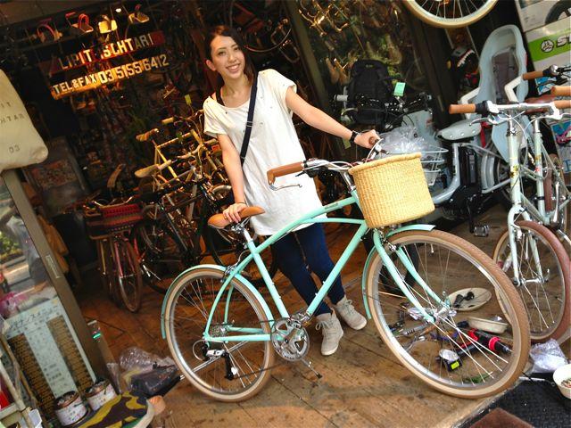 ☆今日のバイシクルガール5本立て☆ 自転車 女子 おしゃれ_b0212032_21191189.jpg
