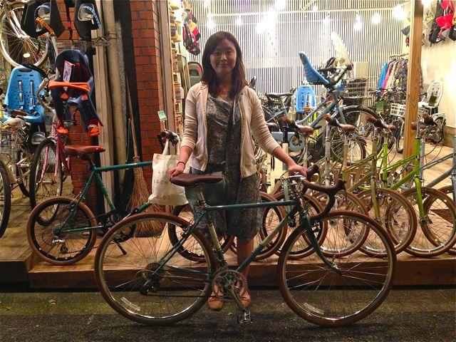 ☆今日のバイシクルガール5本立て☆ 自転車 女子 おしゃれ_b0212032_21192733.jpg