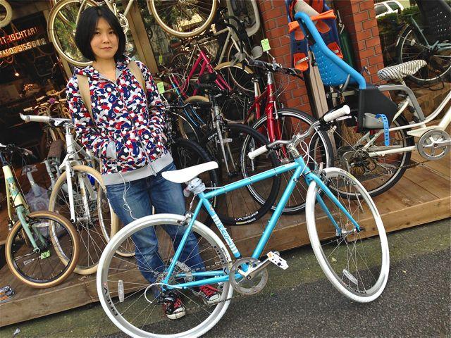 ☆今日のバイシクルガール5本立て☆ 自転車 女子 おしゃれ_b0212032_21193767.jpg