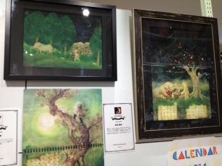 カレンダー展に末吉陽子さんの原画展示が加わりました。_f0010033_23524593.jpg