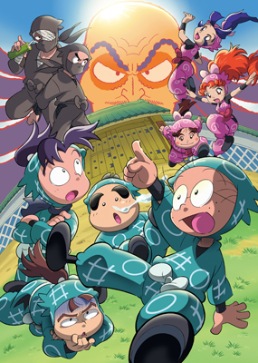 「忍たま乱太郎」20年スペシャルアニメ 『忍術学園と謎の女 これは事件だよ~!の段』のDVD発売決定_e0025035_1616096.jpg