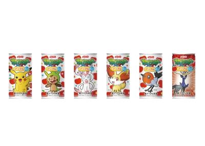 『ポケットモンスター XY』とのコラボ缶発売_e0025035_16292244.jpg
