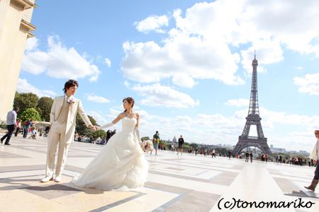 世界中でパリのウェディングフォトツアー流行中?!_c0024345_20153551.jpg