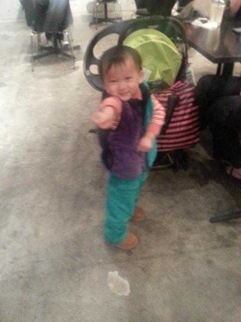 子供OKのカフェ♪「ニコライバーグマン(カフェ)」 (Nicolai Bergmann)@表参道_b0051666_2029394.jpg