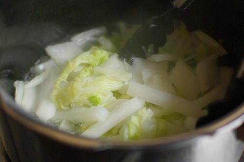 大根と白菜の塩蒸し_c0110869_21565118.jpg