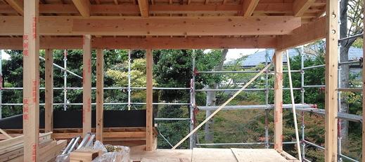 N-House! 建て方!!_f0165030_1653192.jpg