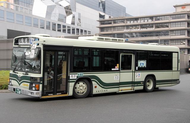 京都市バス~エルガ・ノンステップバス  680~_a0164734_175410100.jpg