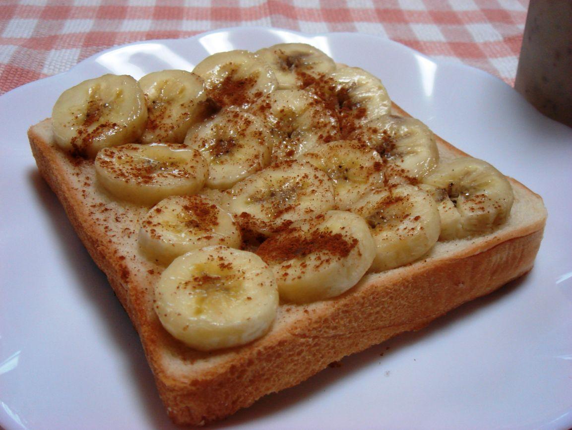 「バナナトースト」_b0171839_1611462.jpg