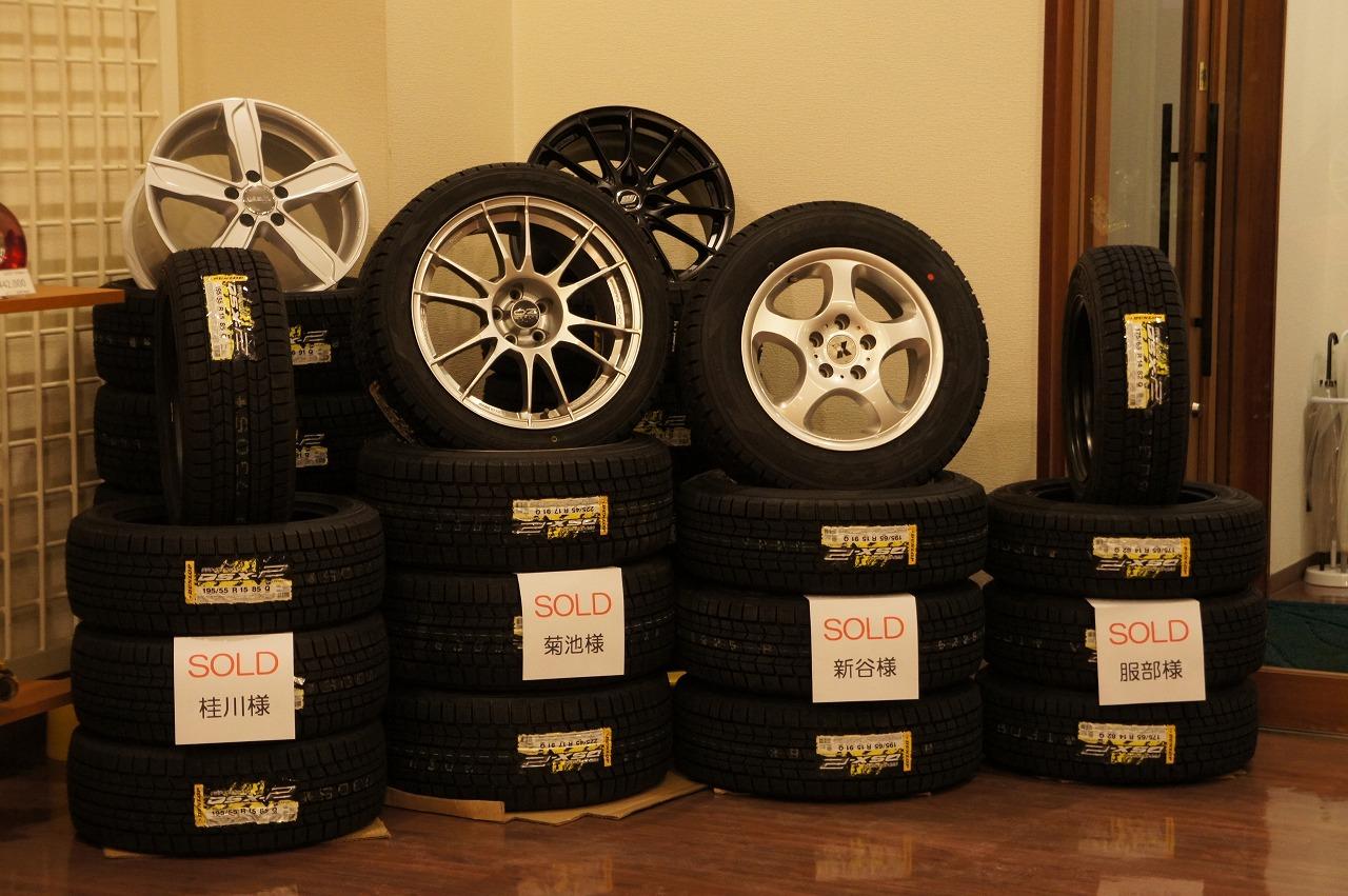 タイヤ交換作業の入庫が増えております♪_c0219786_1801562.jpg
