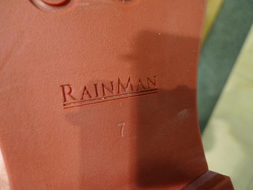 【RAINMAN】のレインシューズ_d0166598_1441633.jpg