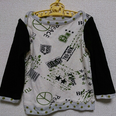 またボートネックTシャツ。_f0124006_220022.jpg