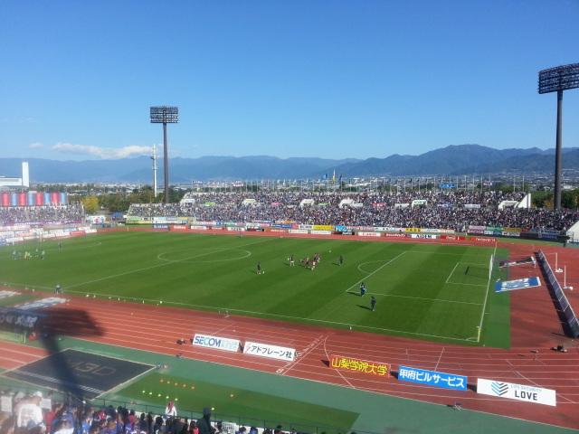 2013JリーグDivision1 第30節 ヴァンフォーレ甲府 - FC東京_b0042308_23452091.jpg