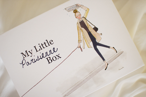 My Little Box Japan,First BoxはParisienne!_d0063314_23501160.jpg