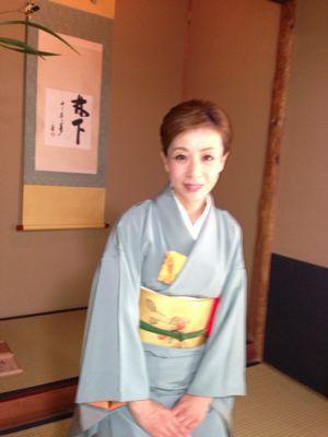 靖国神社お茶会_f0140343_17164370.jpg
