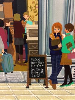 夜のカフェと朝のパン屋さんとお散歩日和(2)_a0017350_0522454.jpg