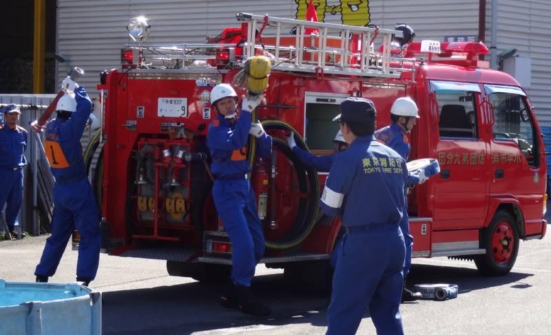 小平市消防団操法大会_f0059673_17454726.jpg