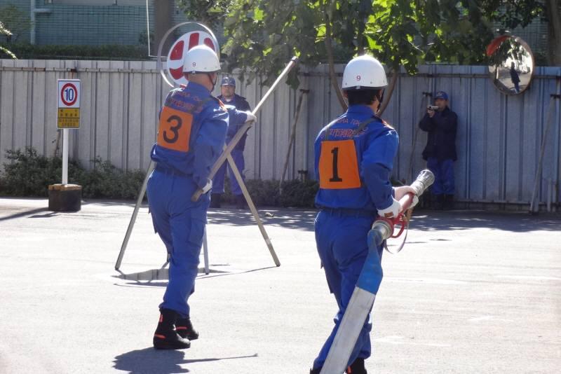 小平市消防団操法大会_f0059673_17461367.jpg