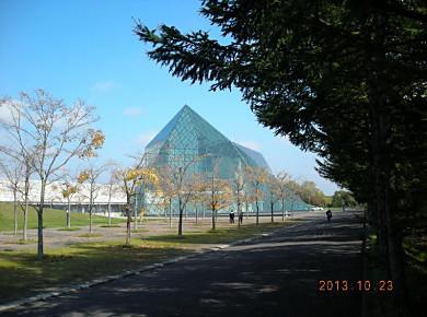 モエレ沼公園秋色_f0078286_1241785.jpg