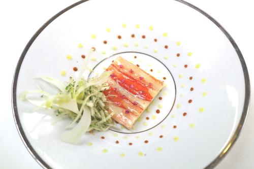Le crabe et le foie gras . Ca va aller bien !?  蟹とフォアグラ?_f0303590_1548377.jpg